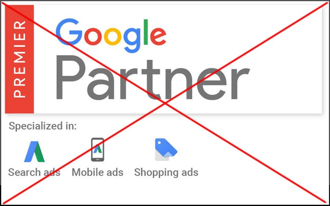 Slik forhindrer du at bedriften din mister sin Google Partner-status